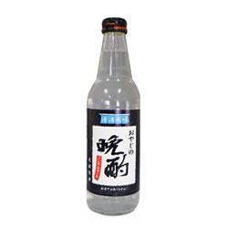 [期間限定] 晚酌碳酸飲料-爸爸日本清酒風味 340ml