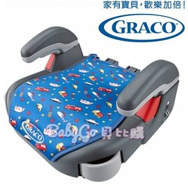 *babygo*GRACO 幼兒成長型輔助汽車安全座椅 COM PACT JUNIOR【卡通車】