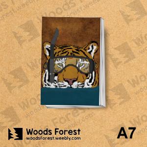【我們約會吧!】木雕森林 A7你手記本(筆記本)【潛水虎】