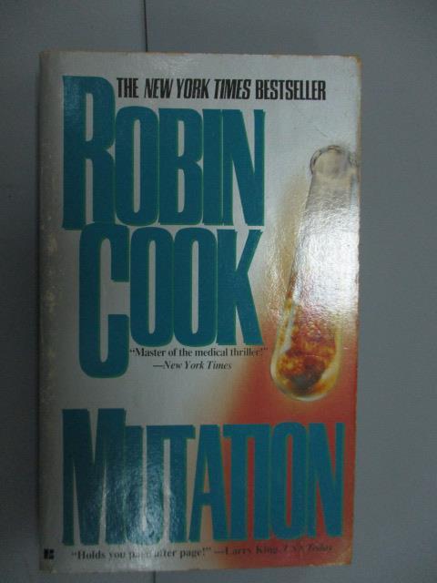 【書寶二手書T1/原文小說_NNW】Mutation_Robin Cook