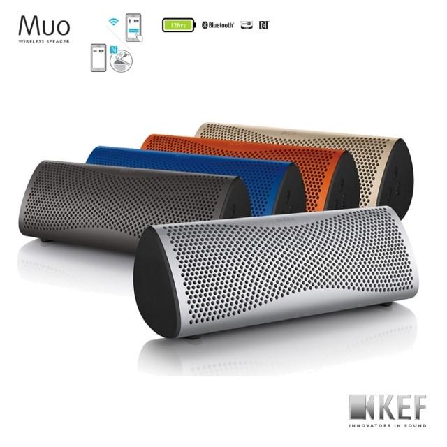 【領券9折】英國 KEF MUO 藍芽無線喇叭 可攜式 多種顏色 公司貨 原廠保固一年