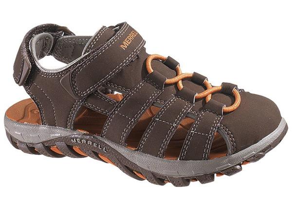 【鄉野情戶外專業】 Merrell |美國|  Waterpro Web Big Kids 水陸兩用涼鞋 大童鞋 _ML85399