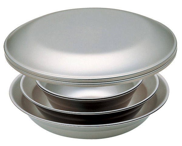 【鄉野情戶外專業】 Snow Peak  日本   Tableware Set L Duo雪峰/露營鍋具/18-8不鏽鋼餐盤組/2人四件組_TW-021D