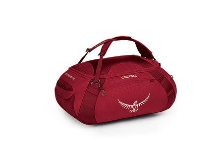 【鄉野情戶外專業】 Osprey |美國|  Transporter65行李袋 手提袋.行李袋.休閒旅遊-紅_Transporter65