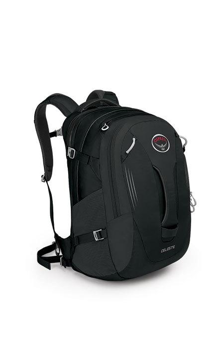 【鄉野情戶外專業】 Osprey |美國|  Celeste 29 旅行背包 健行背包-黑 女款_Celeste29