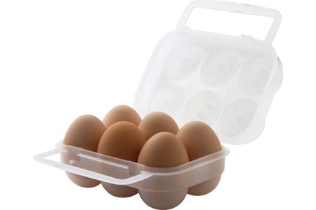 【鄉野情戶外專業】 LOGOS |日本|  エッグホルダー 蛋盒 6粒裝 _LG84701000