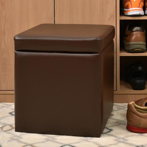 【尚優家居】吉尼爾收納椅/儲藏椅/玄關椅/掀蓋椅 (咖啡色)