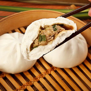賣油郎 古早味  鮮肉包5入 用老麵純油製做的包子 讓你吃的安心 手工/老麵