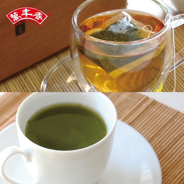 《萬年春》嚐鮮組合-EST茉莉綠茶20入+綠茶粉(買一送一)免運費