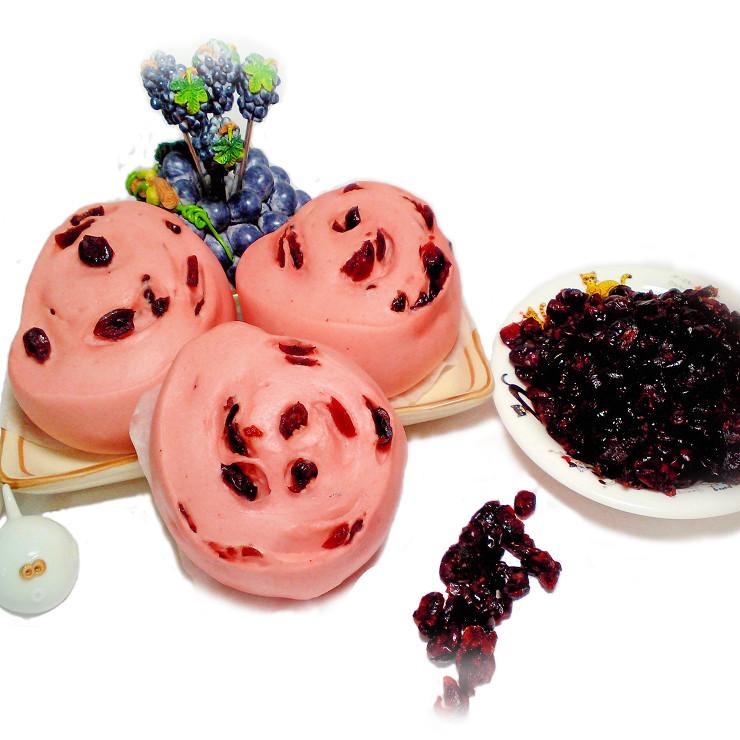 【木子先生】紅麴蔓越莓饅頭(全素)