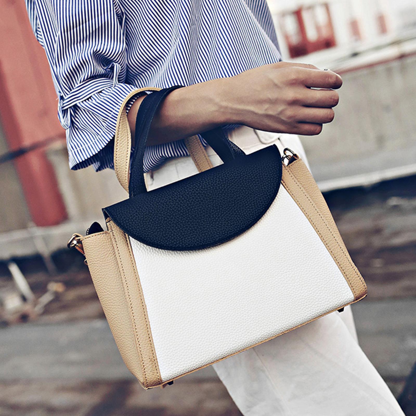 側背包  高質感配色凱莉包方包手提包【O3154】☆雙兒網☆