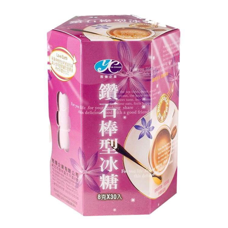 鑽石冰糖(棒型) 8公克/包x30包