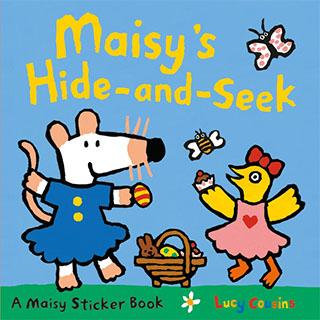 Maisy's Hide And Seek Sticker Book 波波玩捉迷藏貼紙書