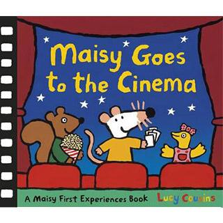 Maisy Goes To The Cinema 波波看電影精裝書