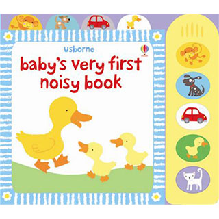 Baby's Very First Noisy Book 小寶貝的第一本有聲書