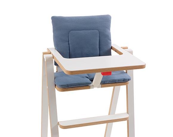 奧地利SUPAflat 兒童折疊高腳餐椅坐墊-湖水藍