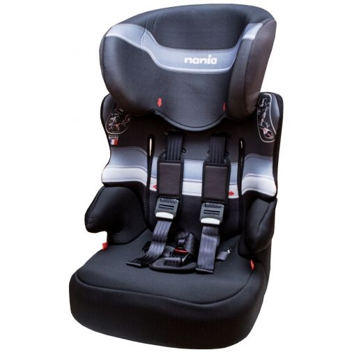★衛立兒生活館★NANIA 納尼亞成長型安全汽座-黑色FB00317(安全座椅)