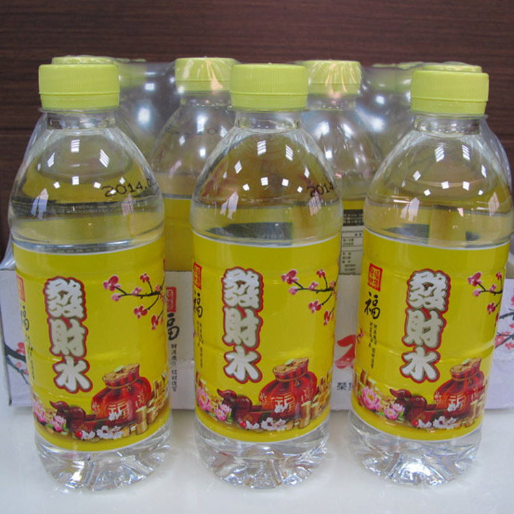 [高珍瓶裝水]光盈發財水350cc/24入 瓶裝水 礦泉水