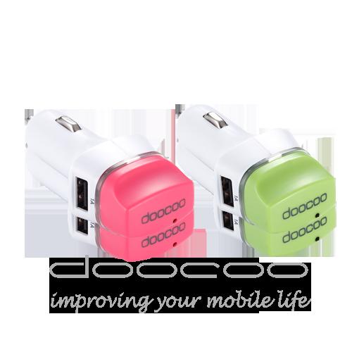 【doocoo】ifresh 3.1A 負離子雙USB車用充電器