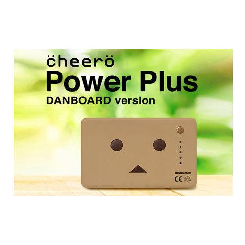 日本cheero 紙箱人 - 阿愣 10400mAh 雙輸出 行動電源