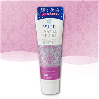 【Made in Japan】LION Japan 獅王 Toothpaste CLINICA ENAMEL PEARL  Floral Mint 130g