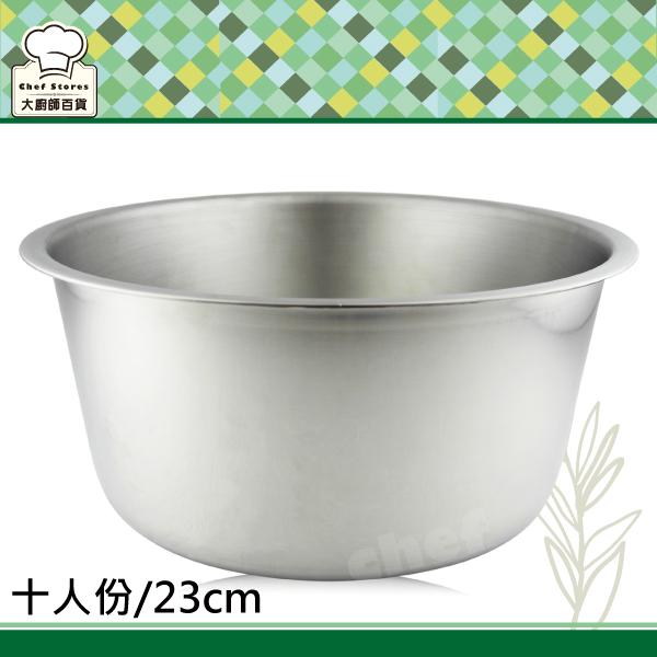 頂級316不鏽鋼十人份電鍋內鍋23cm調理湯鍋-大廚師百貨