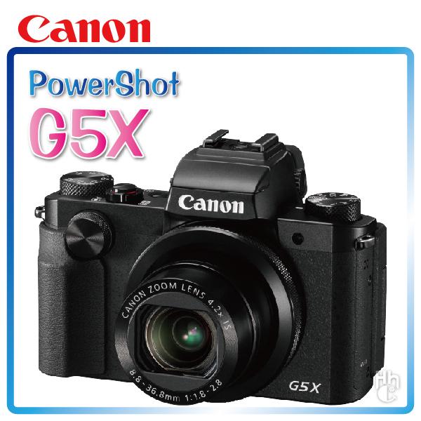 ➤支援USB充電【和信嘉】Canon Power Shot G5X 類單眼 數位相機 美肌/景深 公司貨 原廠保固一年