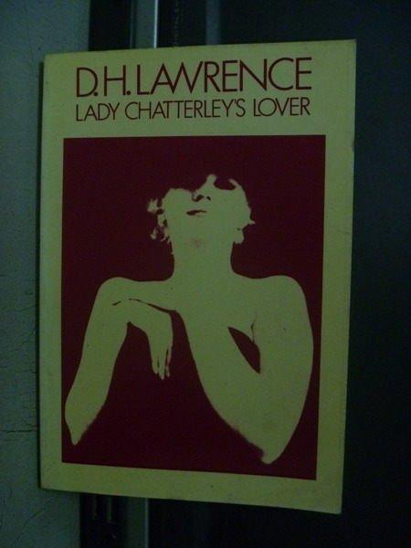 【書寶二手書T8/原文小說_OGB】Lady chatterleys loves_D.H.Lawrence