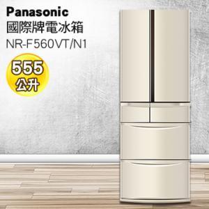 ★杰米家電☆ Panasonic 國際牌 555公升旗艦ECONAVI六門變頻冰箱 NR-F560VT-N1