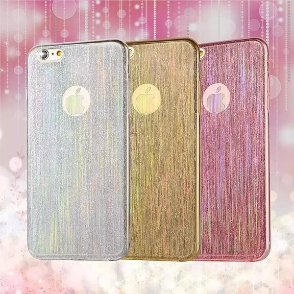 蘋果iPhone5/5S/SE軟殼 流星拉絲矽膠套 蘋果5SE 軟邊透明手機保護殼【預購】