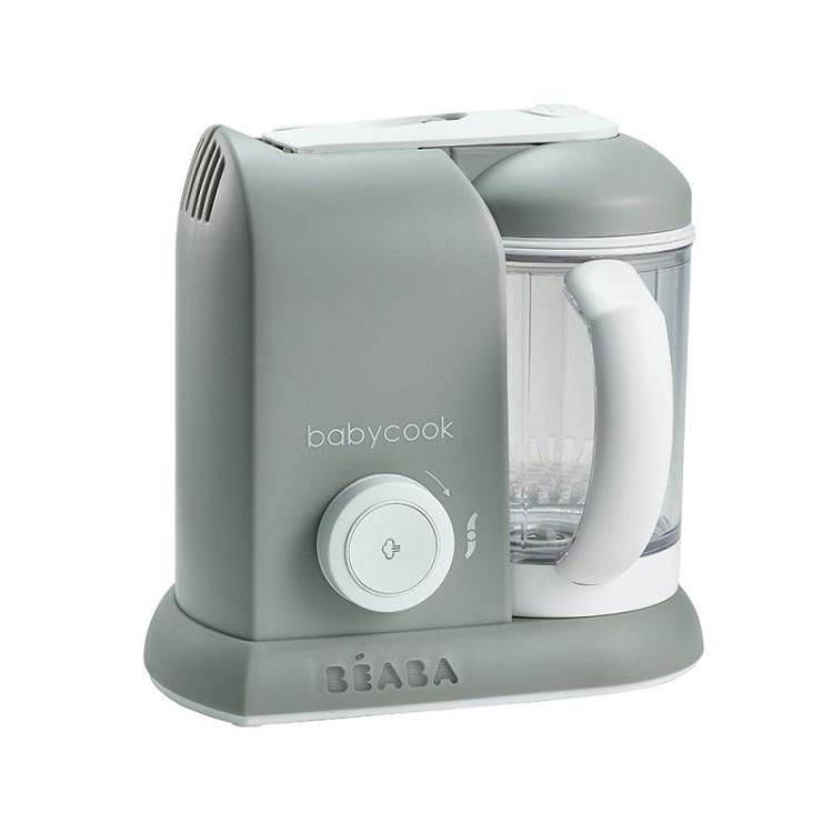 BEABA - Babycook Solo 四合一副食品調理機 -典雅灰 (附官方代理奇哥保證卡)