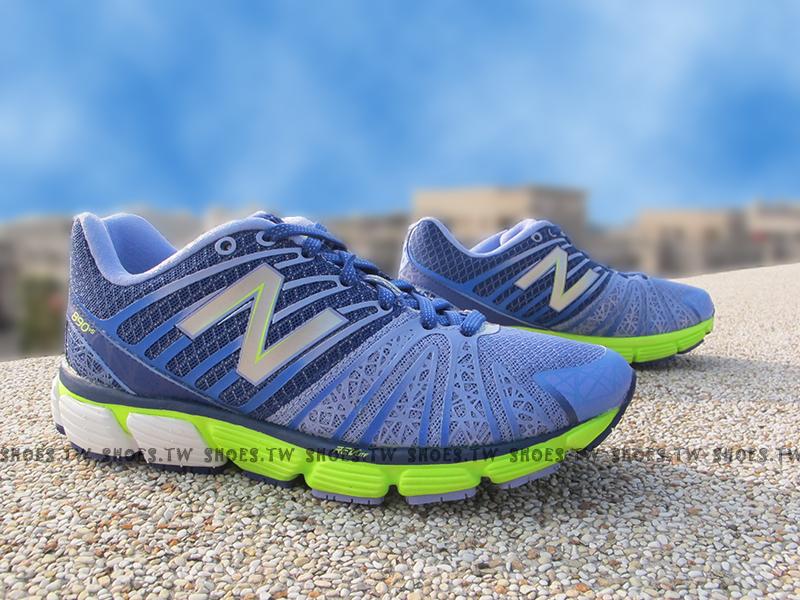 《超值6折》Shoestw【W890PP5】NEW BALANCE 慢跑鞋 紫螢光綠 慢跑專用 女款 NB