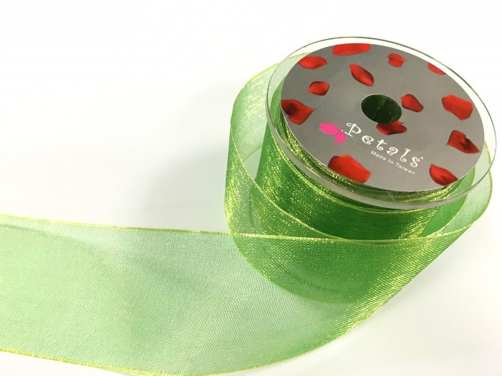Petals緞帶刺繡-38mm雙色雪紗(十色)