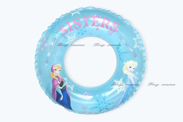 ☆青娃媽媽☆冰雪奇緣泳圈兒童泳圈、游泳圈50cm
