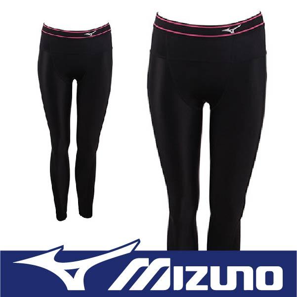 MIZUNO 美津濃 BIOGEAR BG3000R 壓縮褲 壓力褲 支撐保護 吸汗快乾 彈性佳 抗紫外線 A76BP-37094黑x黑 (女)