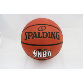 【陽光樂活】斯伯丁 SPALDING 銀色NBA 女子籃球 SPA83015 Silver Outdoor 橘 #6