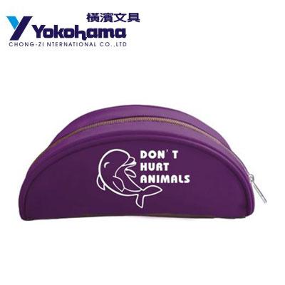 YOKOHAMA 日本橫濱 曼斯蘿部落彎月筆袋YHP-4 / 個