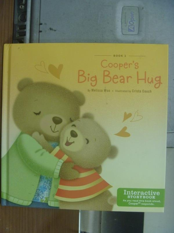 【書寶二手書T1/語言學習_MAD】Cooper's big bear hug_2011