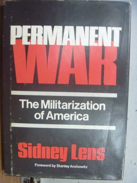 【書寶二手書T5/原文小說_OKL】Permanent War_Sidney Lens