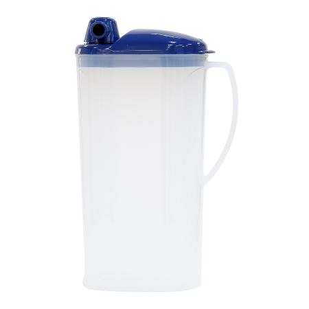 新越耐熱冷水壺 可微波 2.2L 藍色 Y-611