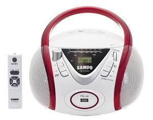 【聲寶SAMPO】手提CD/MP3/USB音響(AK-W1204UL)【刷卡分期+免運】