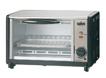 聲寶 9L吐司烘烤電烤箱 KZ-AD09T/KZAD09T《刷卡分期+免運費》