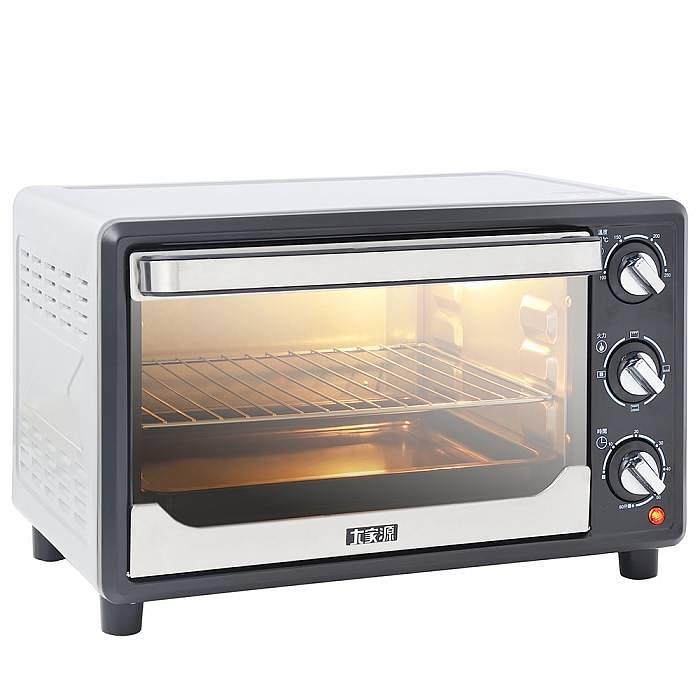 大家源23L 鏡面電烤箱TCY-3823《刷卡分期+免運費》