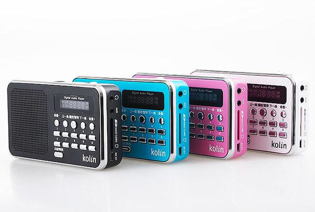 【歌林 Kolin】 多媒體數位播放器 KMP-HC01共四色(隨機出)《刷卡分期+免運》