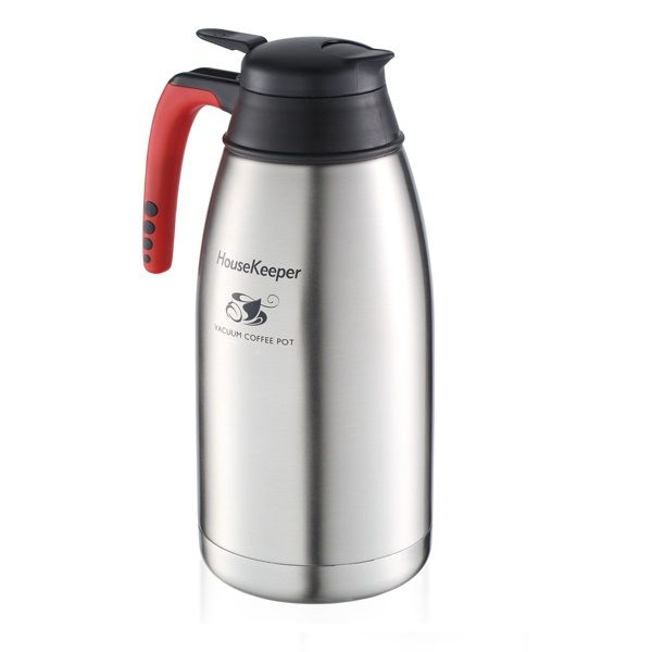 民宿、旅館、餐廳最愛~《 妙管家》2000ml 第二代真空保溫咖啡壺HKCF-2000S