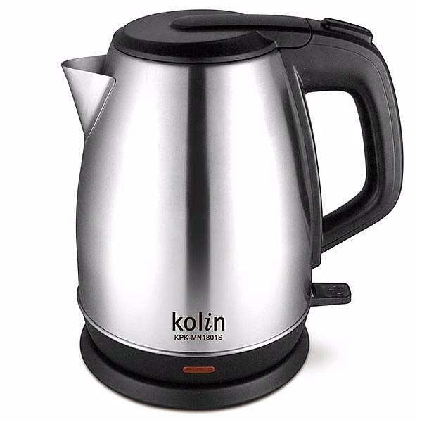 kolin 歌林 1.8L 古典不鏽鋼快煮壺 / 電茶壺 / 電水壺 KPK-MN1801S/KPKMN1801S