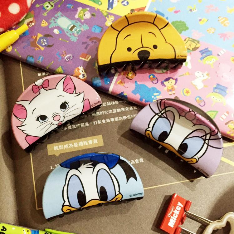 PGS7 迪士尼系列商品 - 迪士尼 系列 造型 鯊魚夾 髮夾 髮飾 米老鼠 奇奇蒂蒂 妙妙貓 史迪奇