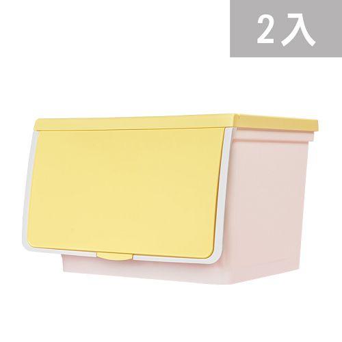 大象平方-繽紛系列直取式收納箱-CM3-008二入(38L)