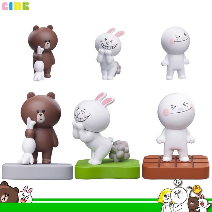 大田倉 日本進口正版 LINE 熊大 兔兔 饅頭人 擺飾 收藏 裝飾品 桌上小物 公仔 玩偶 公仔娃娃