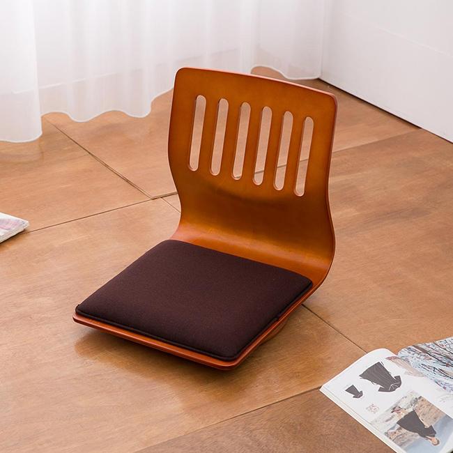 【凱堡】羅丹曲木旋轉和室椅(2入)J17003